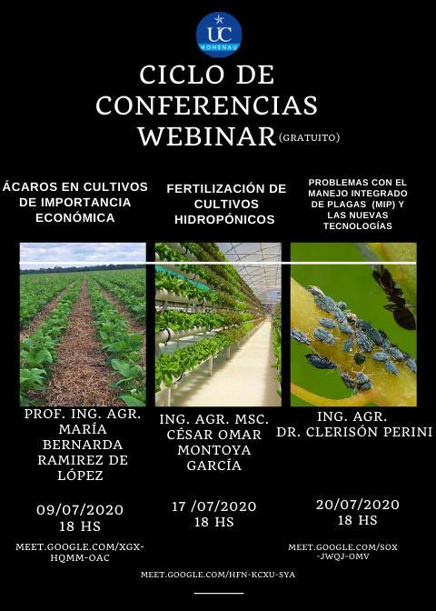 Ciclo de conferencias webinar